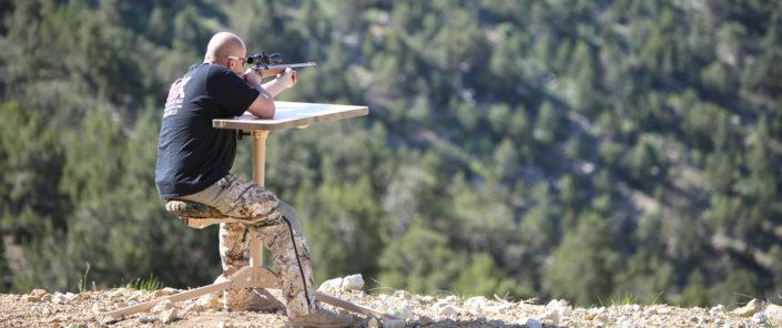 sturdy shooting bench