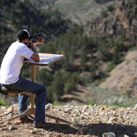 D.O.A. Shooting Bench